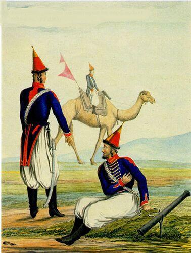 Zamburek grand uniforme 1810