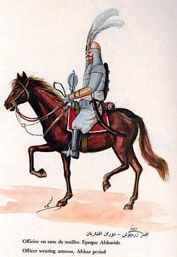 Iranian Military Uniforms Pictorial History 18_ Afsharid Persian (1)