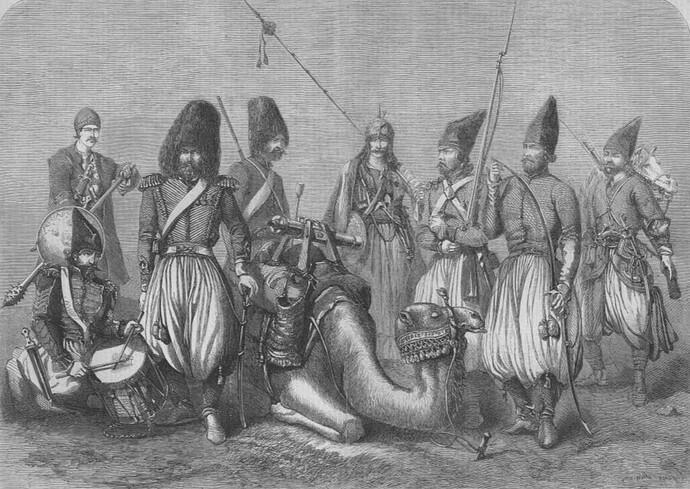 Qajar-Zanbourak-unit