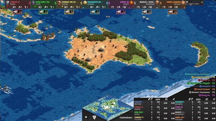 World Map Age of Empires 2 Definitive Edition Oceana - Antartica