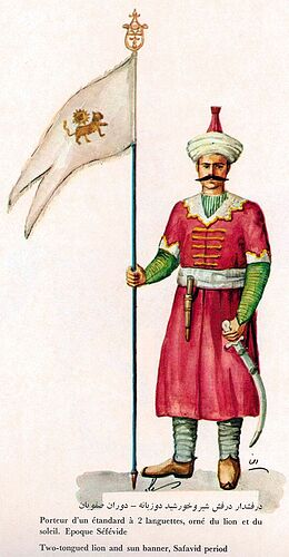 Iranian Military Uniforms Pictorial History 17_ Safavid Persian