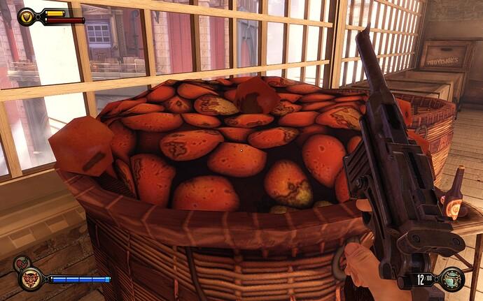 BioShock Infinite fruits
