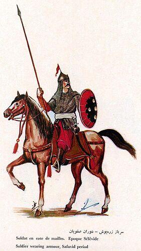 Iranian Military Uniforms Pictorial History 17_ Safavid Persian (3)