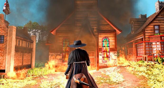 Screenshot contest - Burning Church AOE3DE