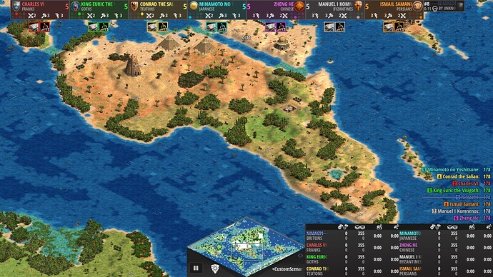 World Map Age of Empires 2 Definitive Edition Africa