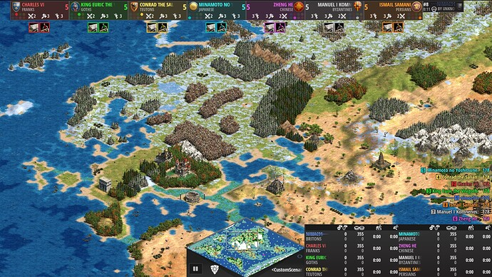 World Map Age of Empires 2 Definitive Edition Europe and Middle East