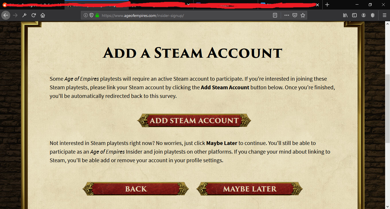 Site asks me to link Steam acc again and again  Bug? Can