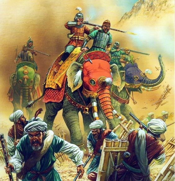 Mughal Invasion